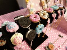 "lets-l3e-cute-together: sweets bracelets ahhhhhhhhhhhhhhh omg all the extra h""s from shivering hah"