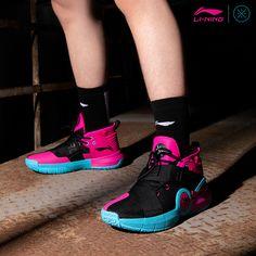 shoes, sneakers, li-ning
