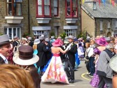 If you are planning you visit to Falmouth in May then you must go and see the Flora Dance at Helston.