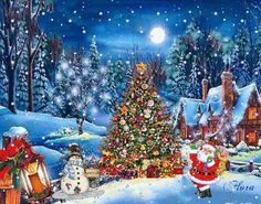 Christmas Christmas Eve Quotes, Snoopy Christmas, Christmas Scenes, Very Merry Christmas, Christmas Love, Winter Christmas, Vintage Christmas Images, Whimsical Christmas, Xmas Greetings