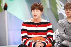 Jin and Jimin ❤ Seokmin on 'Hello Counselor'~ Broadcasted TODAY at 11:10 PM KST~ #BTS #방탄소년단