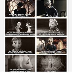 I'm gonna writte a story with Jack and Elsa