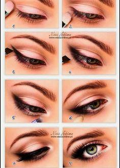 Eye Makeup Ideas #Beauty #Trusper #Tip