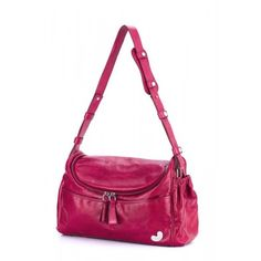 Tribe Singapore Sling in Raspberry. Oh, what a pretty diaper bag!!!