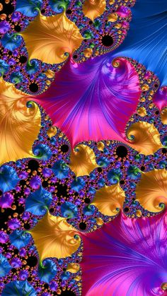 Butterfly Wallpaper, Colorful Wallpaper, Nature Wallpaper, Wallpaper Backgrounds, Fractal Design, Fractal Art, Motif Art Deco, Arte Tribal, Psychedelic Art