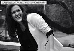Mémé LAFLEUR Ampersand Girl #4  Mary Kate Burke, a producer at ABC news.