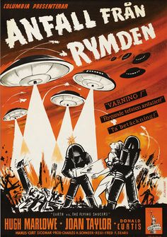 Earth Vs. the Flying Saucers (1956) (Sweden)