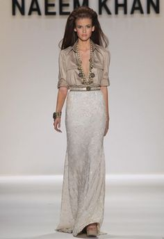 New York Fashion Week Spring 2011 - Naeem Kahn