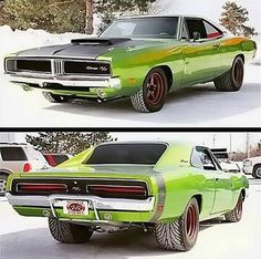 The 68-70 Dodge Charger is my favorite Muscle car shape. I grew up watching Dukes Of Hazzard.