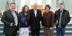 My family and a awesome  pastor  we heard at a  pastors meeting.