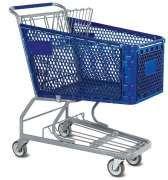 carrinho supermercado preço