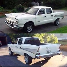 This extended cab Chevy Bel Air Hot Rod Trucks, Cool Trucks, Cool Cars, Chevy Pickup Trucks, Chevrolet Trucks, 1957 Chevrolet, Chevy Pickups, Dodge Trucks, Custom Trucks