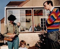 martin parr - garden open day, the cost of living series,