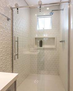 24 trendy Ideas for bathroom renovations shower shelves Bathroom Design Small, Bathroom Layout, Bathroom Interior Design, Modern Bathroom, Bathroom Ideas, Neutral Bathroom, Master Bathrooms, Small Bathrooms, Bad Inspiration