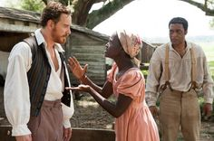 "Slavery, the Rebel flag and the shutdown - Salon.com by Andrew O'Hehir  - - -   How the toxic effects of white supremacy, seen so clearly in ""12 Years a Slave,"" endure in American politics.  More at http://www.salon.com/2013/10/19/slavery_the_rebel_flag_and_the_shutdown/  image: Michael Fassbender, Lupita Nyong'o, Chiwetel Ejiofor in ""12 Years a Slave"""