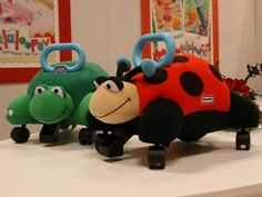 What happens when you give a stuffed animal a set of wheels? You get Little Tikes' Pillow Racers! #toys #toyfair #littletikes