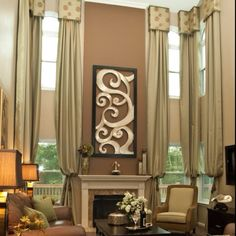 Window Treatments For Tall Spaces