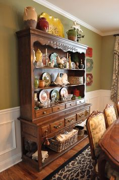 The Thrifty Gypsy: Home Tour part 2 ~ Dining Room!