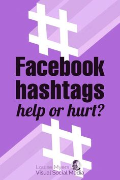 Wondering about Facebook hashtags? Do hashtags actually help your Page posts, or hurt you? Here's the latest on using hashtags in your Facebook posts. Facebook Marketing Strategy, Marketing Program, Social Media Marketing, Digital Marketing, Marketing Ideas, Business Marketing, About Facebook, How To Use Facebook, Social Media Automation