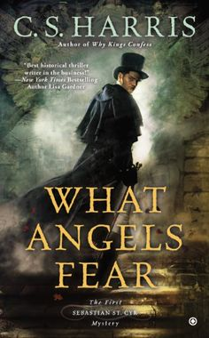 What Angels Fear by C.S. Harris makes our list of book recommendations for fans of P.D. James.