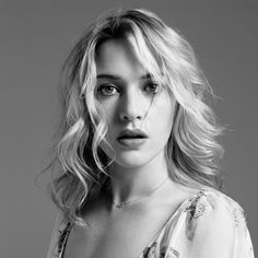 Kate Winslet (1975) - English actress and singer. Photo by Inez Van Lamsweerde and Vinoodh Matadin