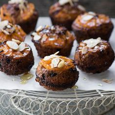 To make a good (and healthy) thing even better, we baked our whole wheat muffins with mandarin slices and topped them with almonds and honey. Raisin Bran Muffins, Whole Wheat Muffins, Butter Ingredients, Freshly Squeezed Orange Juice, Muffin Mix, Honey Butter, Toasted Almonds, Butter Recipe, Recipe Of The Day