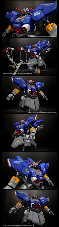 Hight Mobility type ZEONG 1/100 G-SYSTEM+B-CLUB+MG