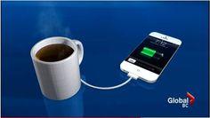 Ann Makosinski crea una taza de café para alimentar tus gadgets. Por un mundo mejor RG Iluminación y Energía - www.rgiesa.mx
