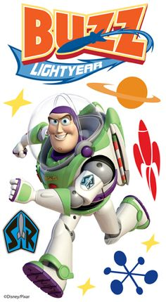EK Success - Disney Collection - 3 Dimensional Stickers with Epoxy Foil and Varnish Accents - Buzz Lightyear 1 at Scrapbook.com