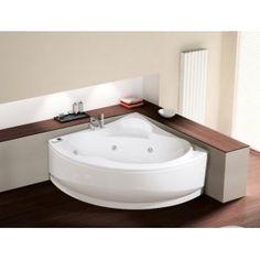 In vendita sul nostro store la #vasca angolare #UNA di #Novellini, per i vostri momenti di relax.  #Rubinetteriashop