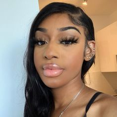 Arabella Body Wave Free Part Inch Lace Frontal Wig Human Hair Wig With Baby Hair Density Black Girl Makeup, Makeup For Brown Eyes, Girls Makeup, Skin Makeup, Beauty Makeup, Hair Beauty, 100 Human Hair, Human Hair Wigs, Curly Hair Styles