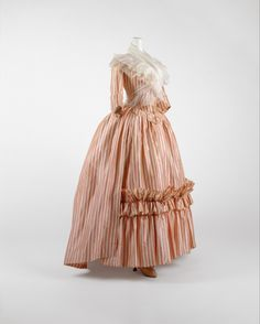 Dress (Robe à l'Anglaise), French, 1785-87