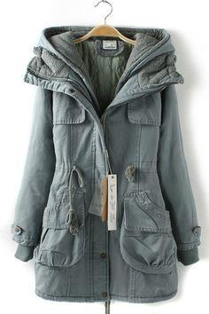 Navy Blue Eskimo Jacket   Outerwear   Pinterest   Navy blue and Navy