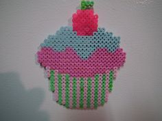 8-bit Large Cupcake Magnet by blargofdoom on deviantART
