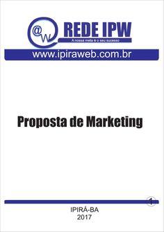 Projeto proposta de marketing anuncio na REDE IPW