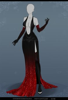 DeviantArt: More Like (closed) Auction Adopt - Outfit 608 by CherrysDesigns Clothing Sketches, Dress Sketches, Hero Costumes, Anime Costumes, Fashion Design Drawings, Fashion Sketches, Anime Outfits, Cool Outfits, Queen Outfit