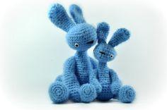 stuffed toy bunnies  Free Shipping by SoftyHandMadegoods on Etsy