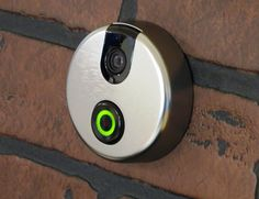 SkyBell Wi-Fi Video #Doorbell  See who is at your door from anywhere in the world! #smarthome