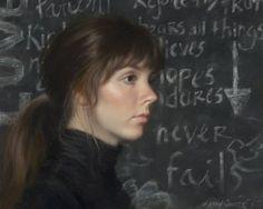 Never Fails (oil on linen) by Ann Kraft Walker | ArtistsNetwork.com #portraits #painting #oil #art