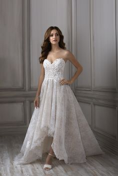 dcb83b7efb Eleanora by Adrianna Papell. Available   Low s Bridal. Perfect Wedding Dress