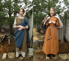 Gotland (on the right she is wearing a fur cape)