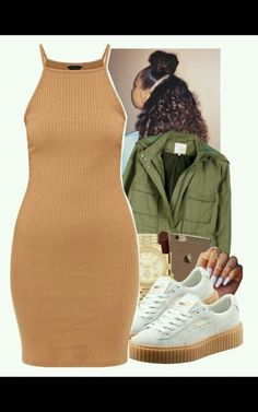 A fashion look from December 2015 featuring Joie jackets, Puma sneakers and Michael Kors watches. Browse and shop related looks. Dope Outfits, Swag Outfits, Casual Outfits, Hipster Outfits, School Outfits, Teen Fashion, Fashion Outfits, Womens Fashion, Style Feminin
