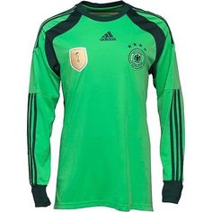 Brand New Adidas Mens Germany Goalkeeper Top Medium Football World Cup Spain M