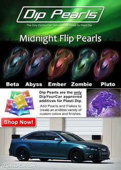 DipYourCar - World Famous Peelable Auto Paint Car Paint Colors, Car Colors, Car Dip, Plasti Dip Car, Acura Rsx Type S, Pink Jeep, Hydro Dipping, Car Parts And Accessories, Cool Gadgets To Buy