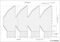 ミックスカラーとウール&ループの異なる形状がボーダー上に現れ、シンプルな編地でも魅力的な表情になるベレー帽です。 作り方はこちら http://www.olympus-thread.com/original/down_load/image/PDF/11-k-67.pdf