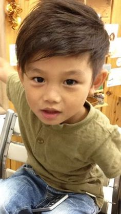 Asian Boy Haircuts, Cute Boys Haircuts, Toddler Boy Haircuts, Kids Cuts, Boy Cuts, Boy Hair Cuts, Baby Boy Hairstyles, G Hair, Teen Boy Fashion