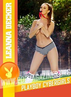 Leanna Decker - Playboy Cybergirls