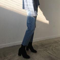 Uniform: Oversized Jumper, Jeans, Ankle Boots   fashiion-gone-rouge