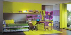 Yellow Computer Desk Bsm farshout.com