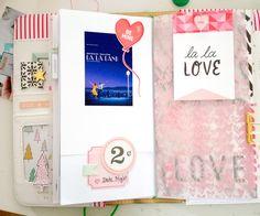 Travelers Notebook mit 'Heart Day' von little everyday moments